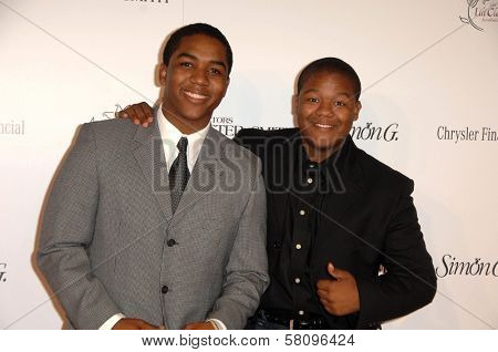 Christopher Massey and Kyle Massey  at the 11th Annual Lili Claire Foundation Benefit Dinner and Concert Gala, Santa Monica Civic Center, Santa Monica, CA. 10-04-08