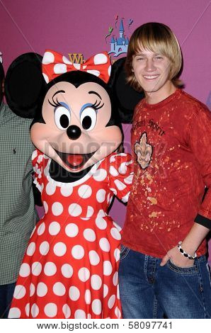 Jason Dolley  at the Sweet 16 Celebration for Miley Cyrus. Disenyland, Anaheim, CA. 10-05-08