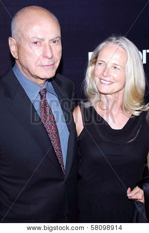 Alan Arkin and Suzanne Newlander Arkin at the Los Angeles premiere of