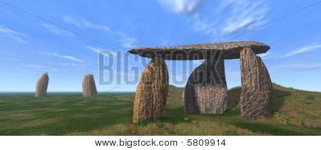 Dolmen Landschaft