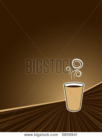 Coffee Rush Background