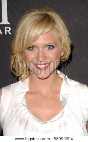 Brittany Snow  at the 4th Annual YMI Jeanswear Fashion Show and After-Party. Boulevard3, Hollywood, CA. 10-09-07