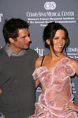 Len Wiseman and Kate Beckinsale  at the 4th Annual Pink Party. Santa Monica Airport, Santa Monica, C