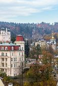 view Of Karlovy Vary,czech Republic