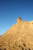 pic of tozeur  - Camel head rock one of the tourist stops in Ong Jemel TozeurTunisia - JPG