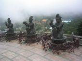 picture of lantau island  - The Lantau Island Statue in Hong Kong - JPG