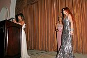 Paula Abdul with Gila Michael and Phoebe Price  at the Neuromuscular Disease Foundation Spring Gala