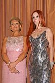 Gila Michael and Phoebe Price  at the Neuromuscular Disease Foundation Spring Gala Dinner and Casino