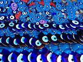 ������, ������: A pile of Glass Evil Eye Amulet