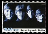 The Beatles Postage Stamp From Benin