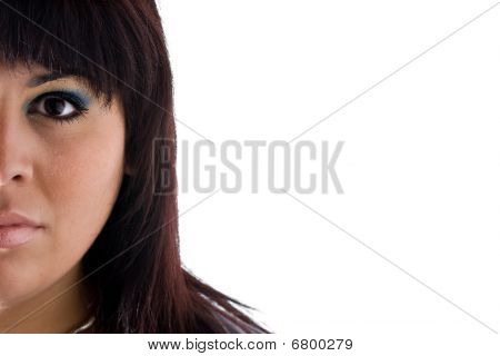 Half Of Her Face