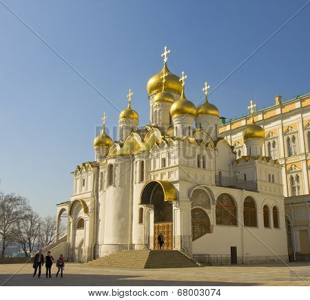 Moscow, Annunciation Kremlin Cathedral