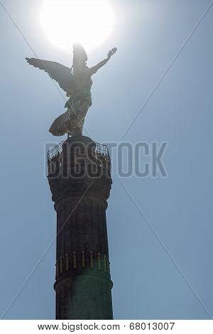 Triumphal Victory Column In Berlin