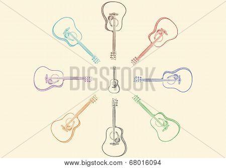 Guitars around