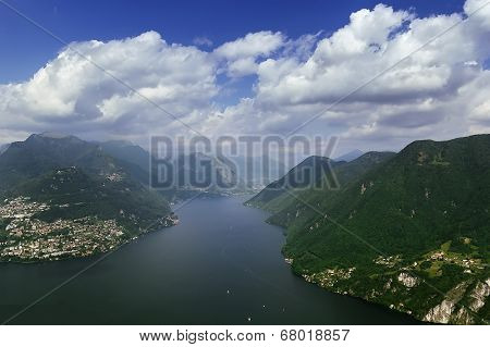 Lake Lugano, Switzerland