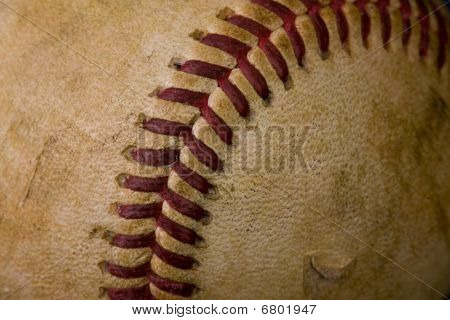 Old Worn Baseball