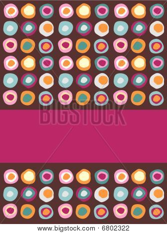 Multicolored Dots Background