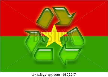 Burkina Faso Flag Recycling