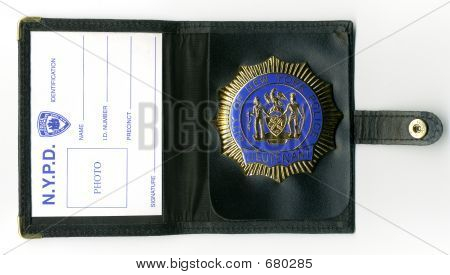 NYPD Brieftasche