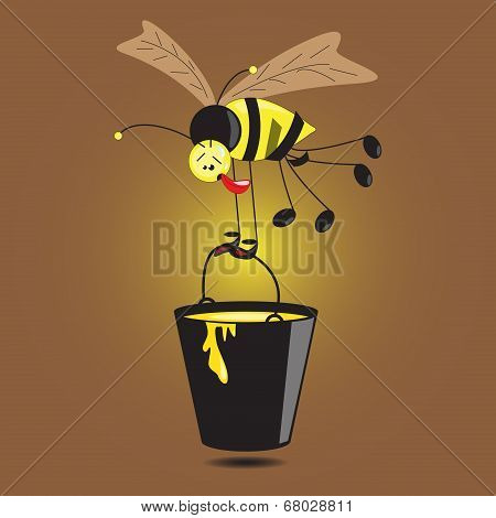 Hard-working Bee