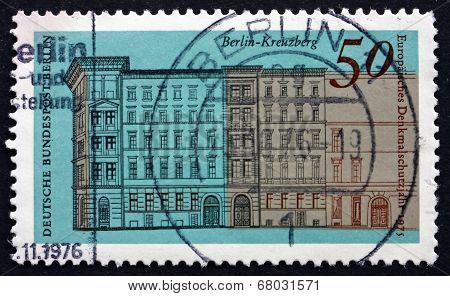 Postage Stamp Germany 1975 Houses, Naunynstrasse, Berlin-kreuzbe