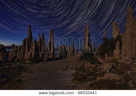 Beautiful Landscape Image of the Tufas of Mono Lake