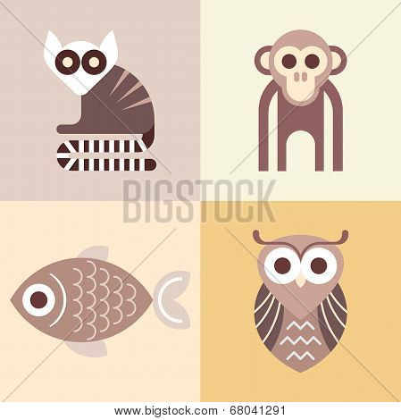 Animal Vector Icons