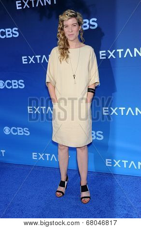 LOS ANGELES - JUN 06:  Tessa Ferrer arrives to the 'Extant' Premiere Party  on June 06, 2014 in Los Angeles, CA