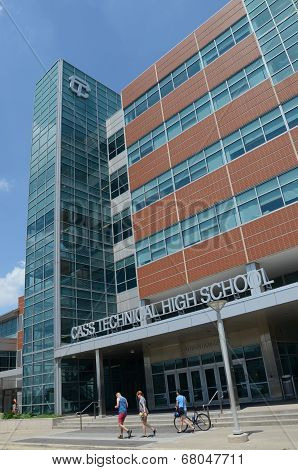 Cass Technical High School In Detroit, Mi