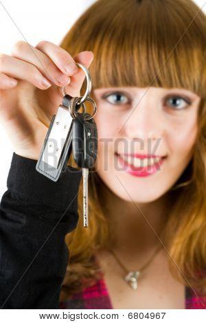 Llaves del coche de ventas mujer oferta