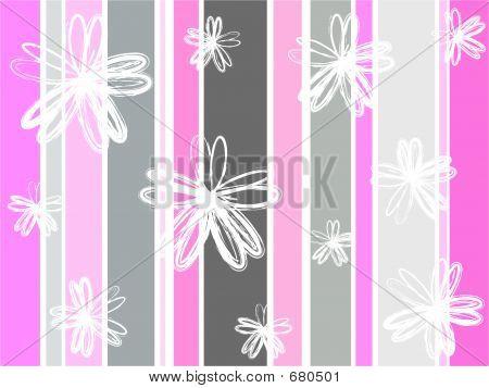 Stripy Florals