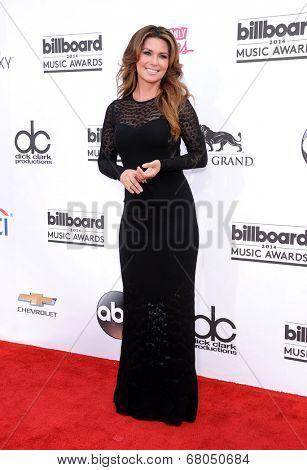 LAS VEGAS - MAY 18:  Shania Twain arrives to the Billboard Music Awards 2014  on May 18, 2014 in Las Vegas, NY