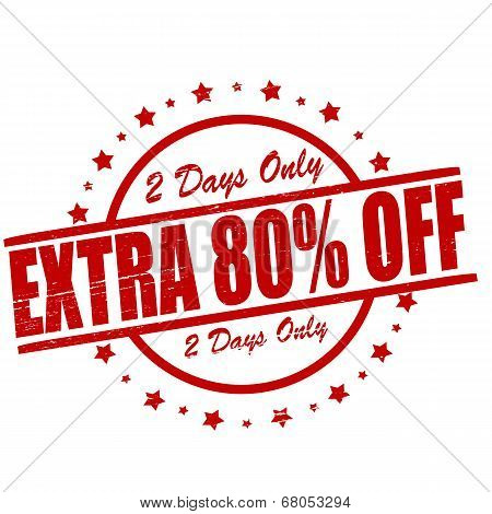 Extra Eighty Percent Off