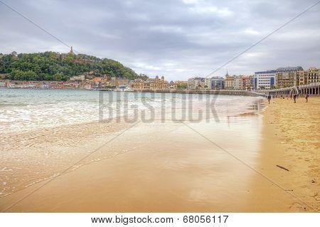 San Sebastian. Beach