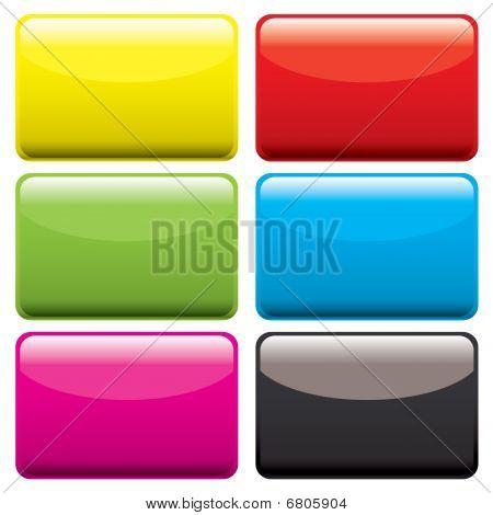 Plastic Oblong Blank