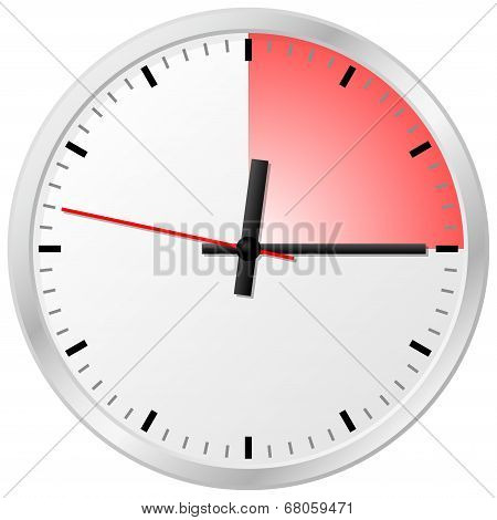 Timer With 15 (fifteen) Minutes