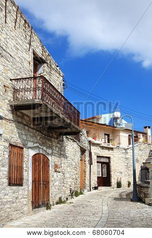 medieval terraced houses, Lefkara, Cyprus