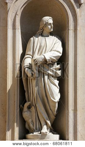 PARMA, ITALY - MAY 01,2014: Saint John the Evangelist. San Giovanni Evangelista is a church in Parma, northern Italy, part of a complex also including a Benedictine convent, Parma. Emilia-Romagna,