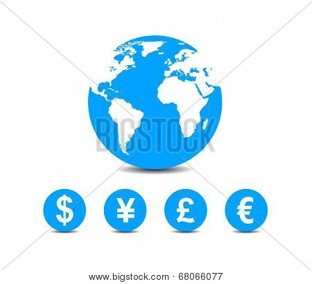 World Currencies Icons