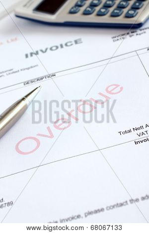 Overdue Invoice