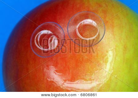 Apple sonriente