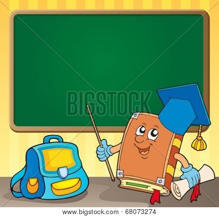 Schoolboard theme image 4 - eps10 vector illustration.
