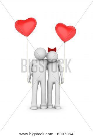 Ballooned Love