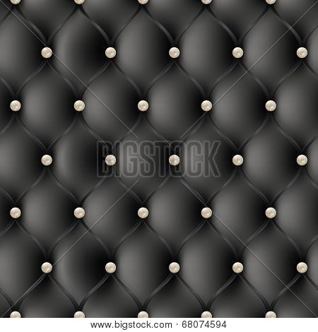 Seamless pattern upholstery, with pearls.