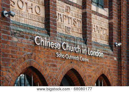 Chinese Church Facade