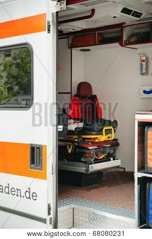 Red Cross - Emergence Ambulance In Germany