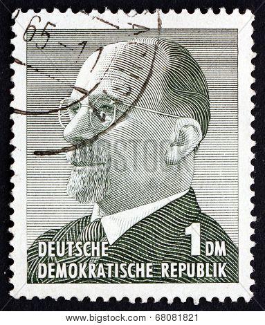Postage Stamp Gdr 1963 Chairman Walter Ulbricht