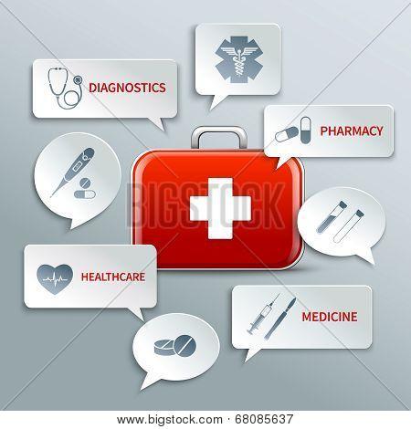 Medical paper bubbles