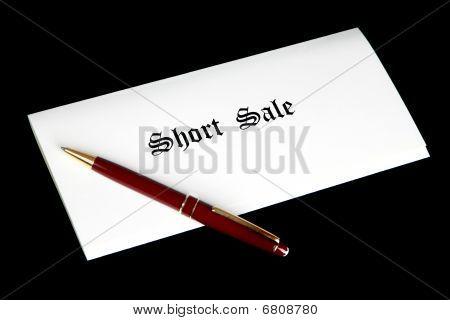 Short Sale Documents