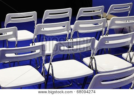 Chairs In Conference Hall